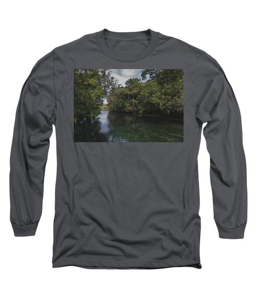Manatee Springs Long Sleeve T-Shirt