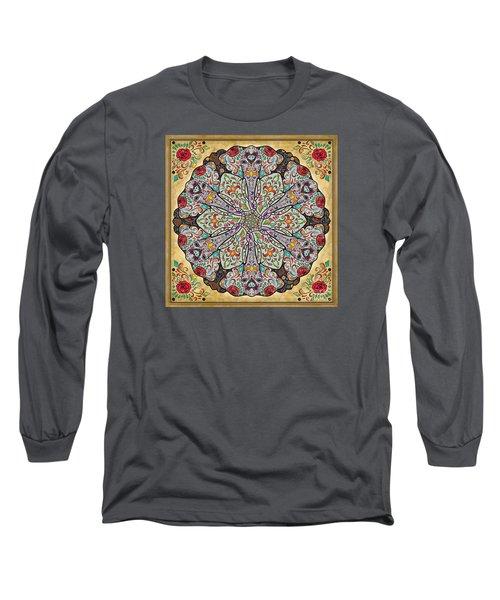 Mandala Elephants Long Sleeve T-Shirt