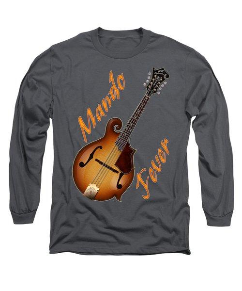Mando Fever T Shirt Long Sleeve T-Shirt by WB Johnston
