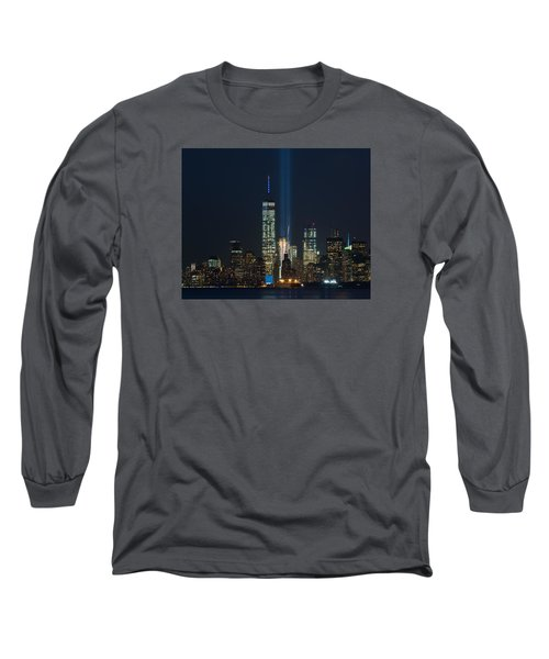 Manhattan 9.11.2015 Long Sleeve T-Shirt by Kenneth Cole