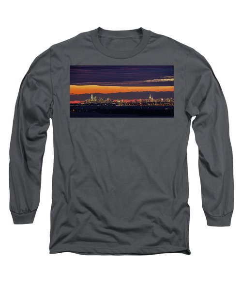 Manhattan Lights Long Sleeve T-Shirt
