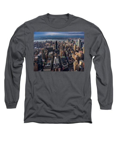 Manhattan, Ny Long Sleeve T-Shirt