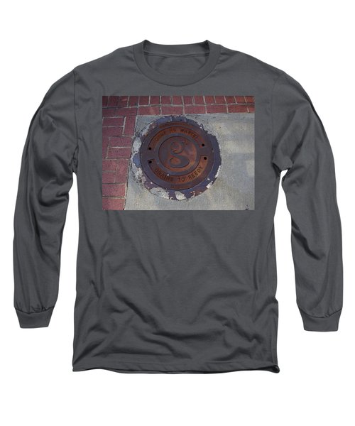 Manhole II Long Sleeve T-Shirt