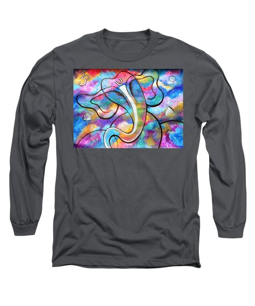 Manomay-ganesha  Long Sleeve T-Shirt
