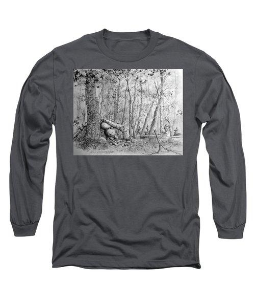 Many Balanced Rosks Long Sleeve T-Shirt