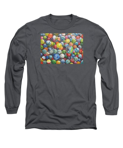 Many Marbles Long Sleeve T-Shirt by Oz Freedgood