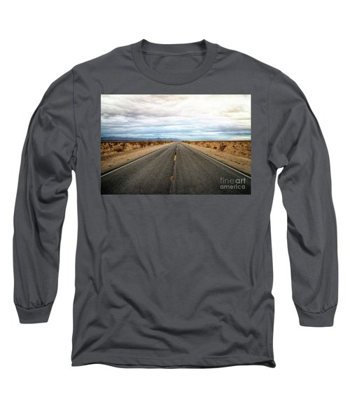 Many Miles Through Mojave Desert Long Sleeve T-Shirt