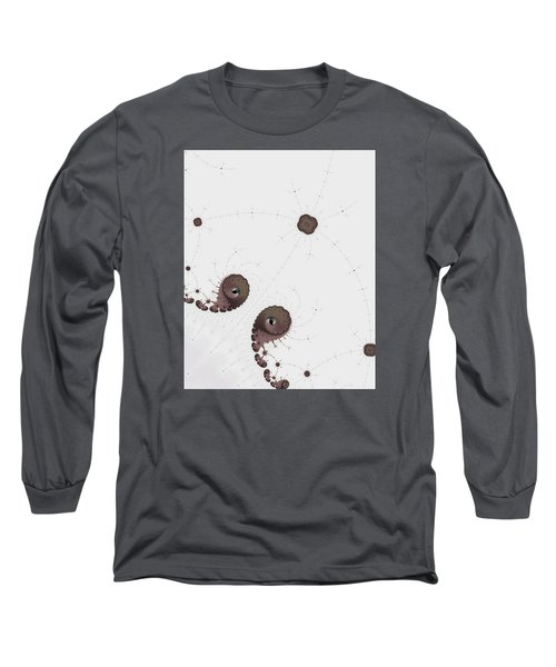Long Sleeve T-Shirt featuring the photograph Map Of Fractal Islands Detail by Ronda Broatch