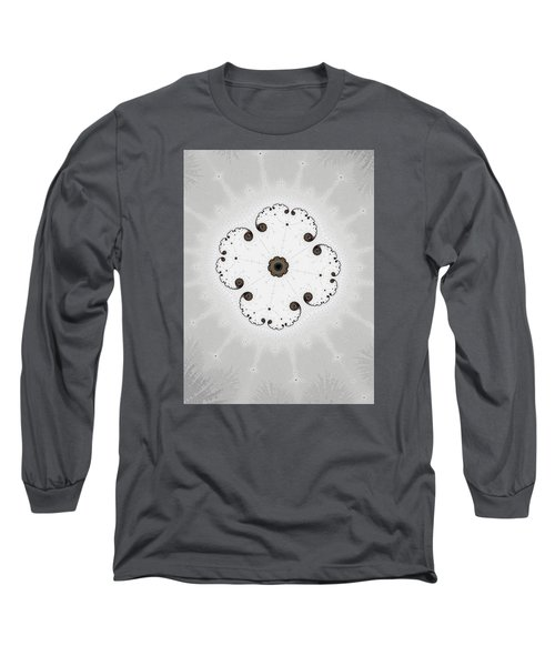 Long Sleeve T-Shirt featuring the photograph Map Of Fractal Islands by Ronda Broatch