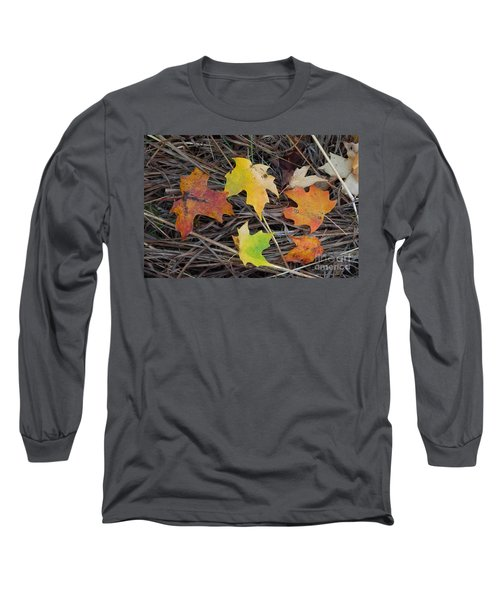 Long Sleeve T-Shirt featuring the photograph Maple Leafs by Gerald Strine