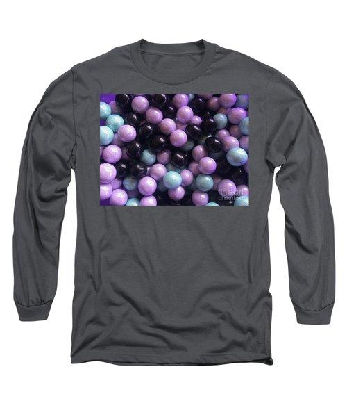 Marble Candy Art Long Sleeve T-Shirt