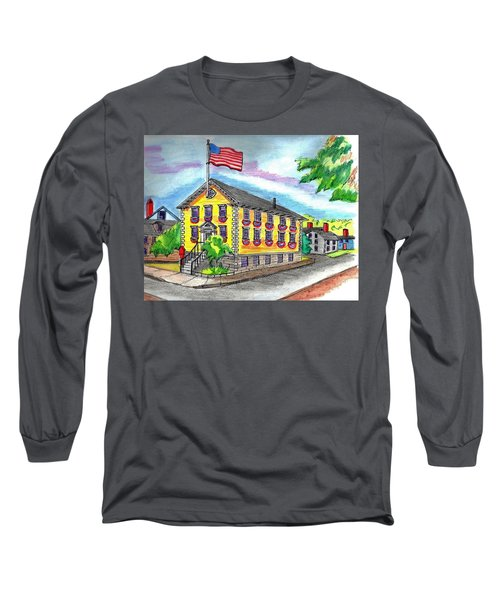 Marblehead Icon Long Sleeve T-Shirt by Paul Meinerth