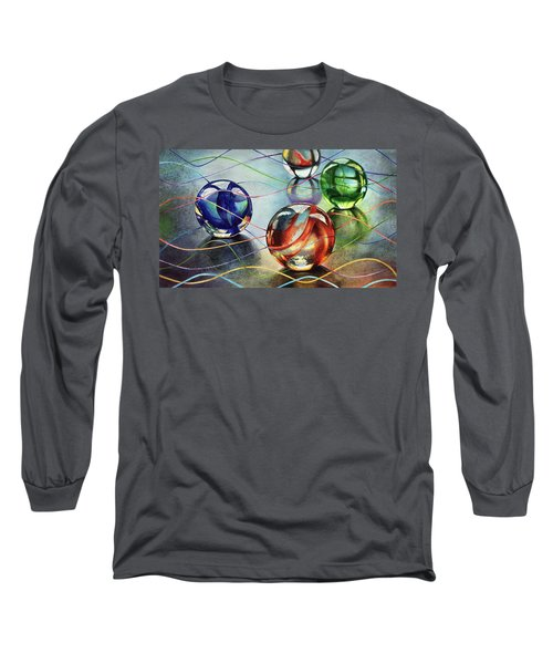 Marbles 4 Long Sleeve T-Shirt
