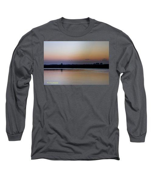 March Pre-sunrise Long Sleeve T-Shirt by Nance Larson