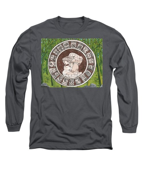 March  The Mayan Calendar Long Sleeve T-Shirt