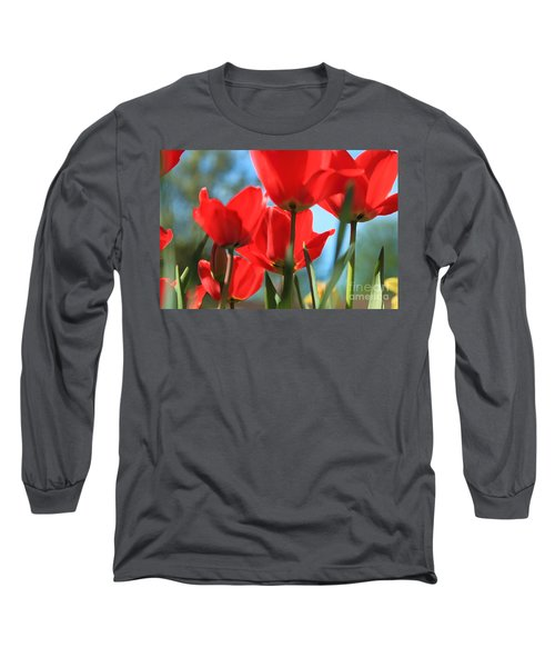 March Tulips Long Sleeve T-Shirt
