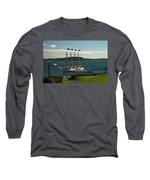 Margaret Todd - Bar Harbor Icon Long Sleeve T-Shirt