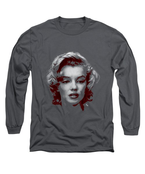 Marilyn Monroe Vintage Long Sleeve T-Shirt by Kim Gauge