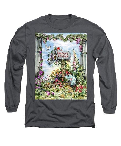 Marilyn's Greenhouse Long Sleeve T-Shirt