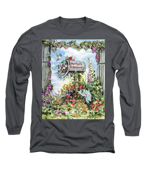Marilyn's Greenhouse Long Sleeve T-Shirt