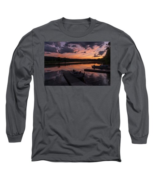 Marina Sunset IIi Long Sleeve T-Shirt
