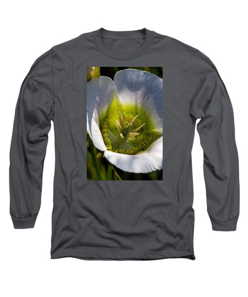 Mariposa Lily Long Sleeve T-Shirt by Alana Thrower