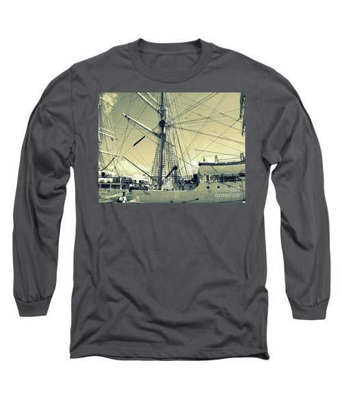 Maritime Spiderweb Long Sleeve T-Shirt