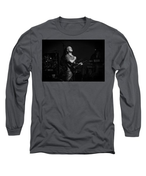 Mark Farner Gfr Long Sleeve T-Shirt by Kevin Cable