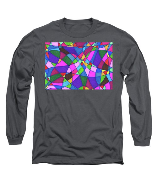Marker Mosaic Long Sleeve T-Shirt