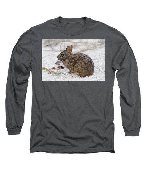Marsh Rabbit On Dune Long Sleeve T-Shirt