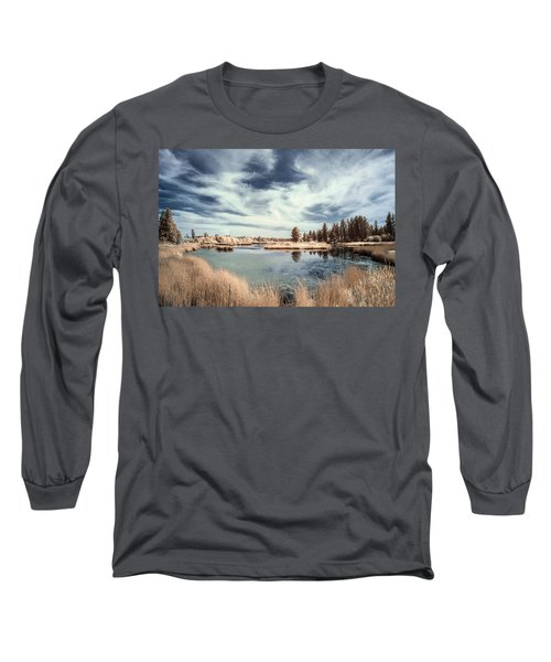 Marshlands In Washington Long Sleeve T-Shirt