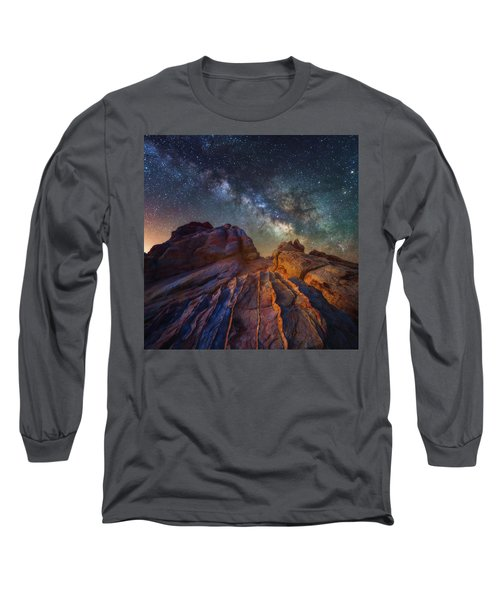 Long Sleeve T-Shirt featuring the photograph Martian Landscape by Darren White