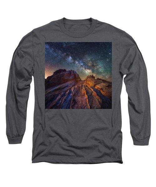Martian Landscape Long Sleeve T-Shirt