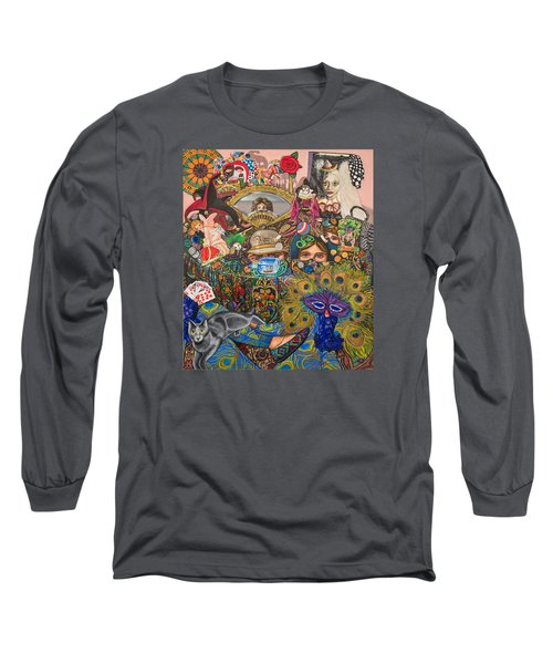 Martigras Masquerade Long Sleeve T-Shirt