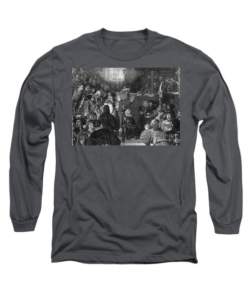 Martin Luther, Imperial Diet Of Worms Long Sleeve T-Shirt