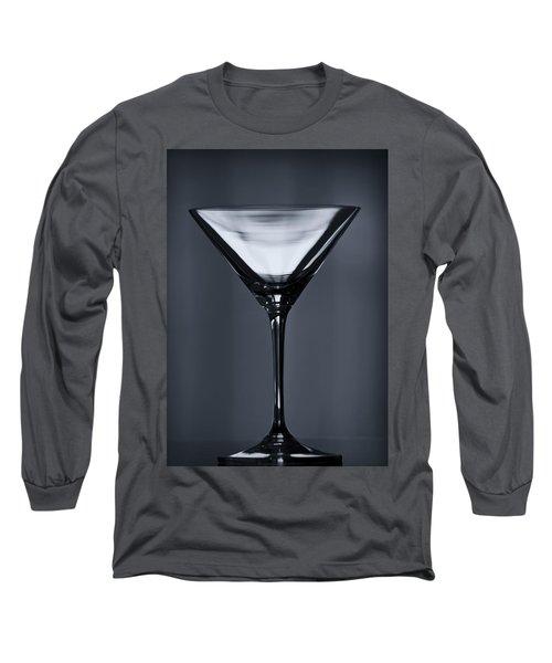 Martini Long Sleeve T-Shirt by Margie Hurwich