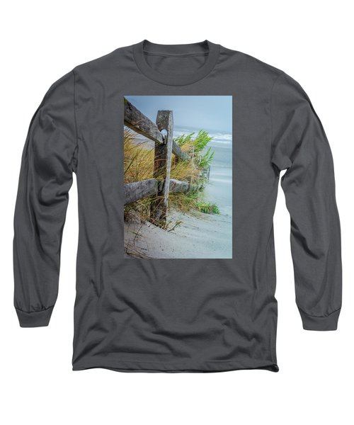 Marvel Of An Ordinary Fence Long Sleeve T-Shirt by Patrice Zinck