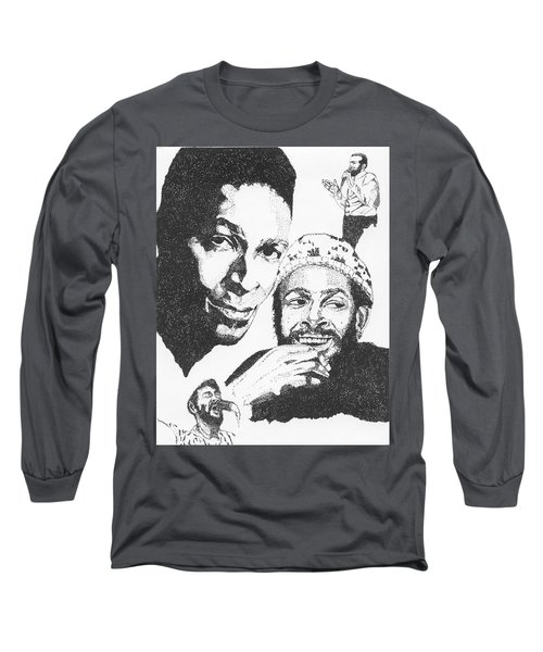 Marvin Gaye Tribute Long Sleeve T-Shirt