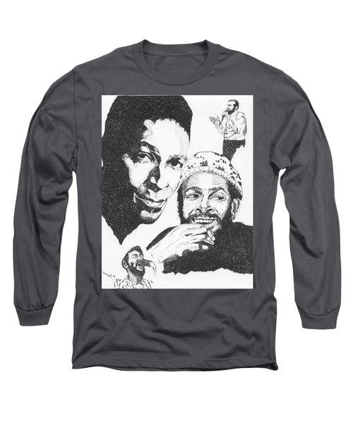 Marvin Gaye Tribute Long Sleeve T-Shirt