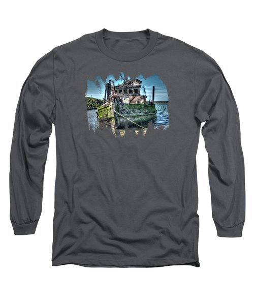 Mary D. Hume Shipwreak Long Sleeve T-Shirt