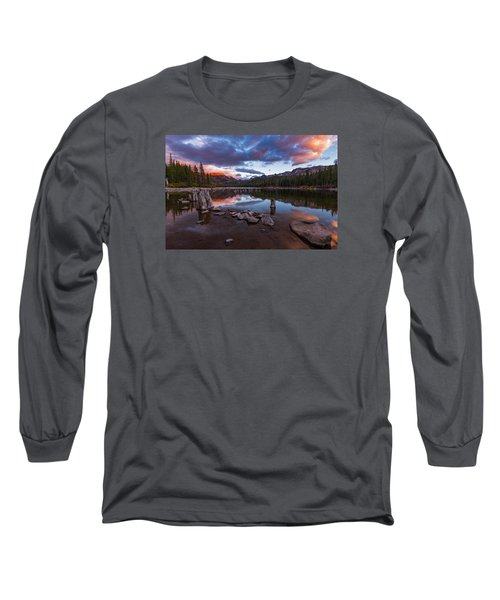 Mary's Reflection Long Sleeve T-Shirt by Tassanee Angiolillo