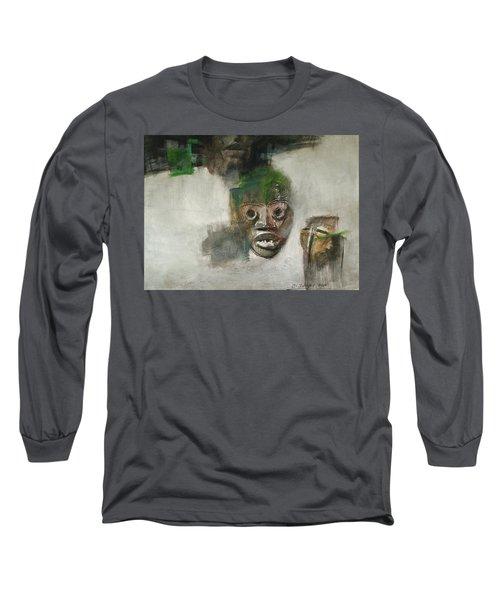 Symbol Mask Painting - 06 Long Sleeve T-Shirt