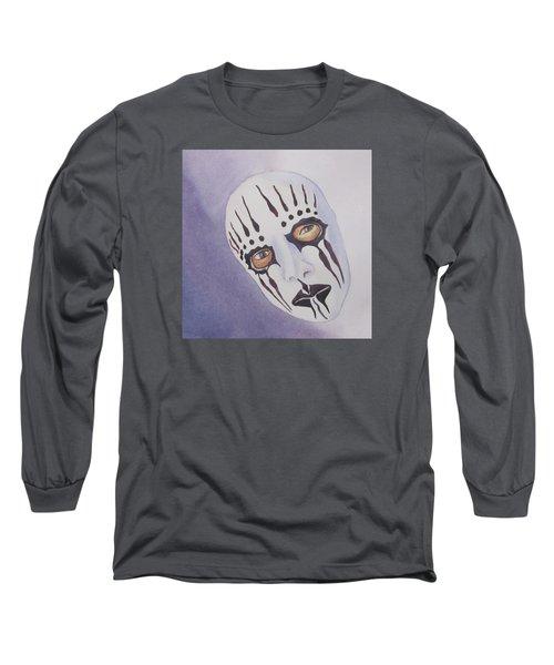 Mask I Long Sleeve T-Shirt by Teresa Beyer