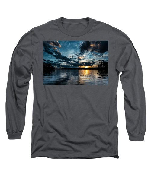 Masscupic Lake Sunset Long Sleeve T-Shirt