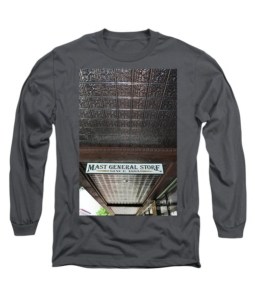 Long Sleeve T-Shirt featuring the photograph Mast General Store II by Skip Willits