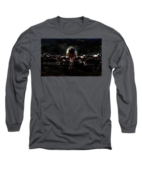 Long Sleeve T-Shirt featuring the photograph Mats Constellation by John Schneider