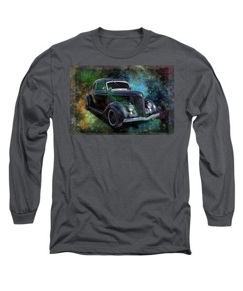 Matt Black Coupe Long Sleeve T-Shirt