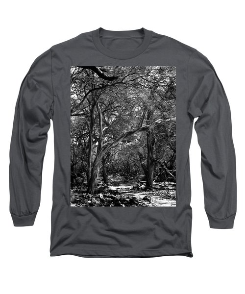 Maui Trees Long Sleeve T-Shirt by Art Shimamura