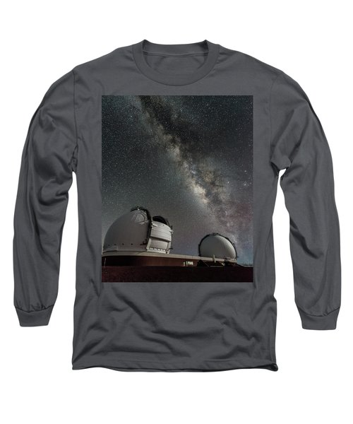 Mauna Kea Night Long Sleeve T-Shirt