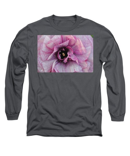 Long Sleeve T-Shirt featuring the photograph Mauve Beauty by Tamara Bettencourt